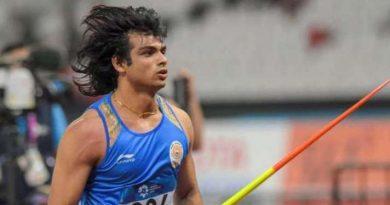 नीरज चोपड़ा ने मीटिंग सिडडे डी लिस्बोआ जेवलिन थ्रो प्रतियोगिता में जीता स्वर्ण