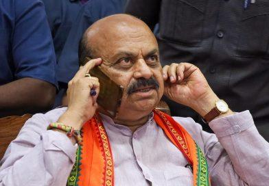 बोम्मई ने दिल्ली में केंद्रीय मंत्रियों से मुलाकात की, प्रधानमंत्री से शाम चार बजे मिलेंगे