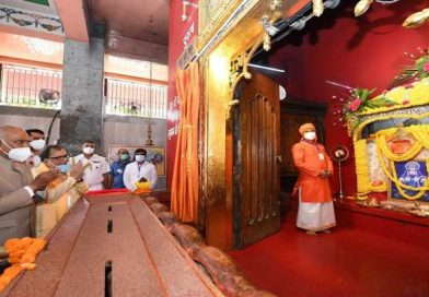 बिहारः राष्ट्रपति ने पटना के महावीर मंदिर में की पूजा-अर्चना